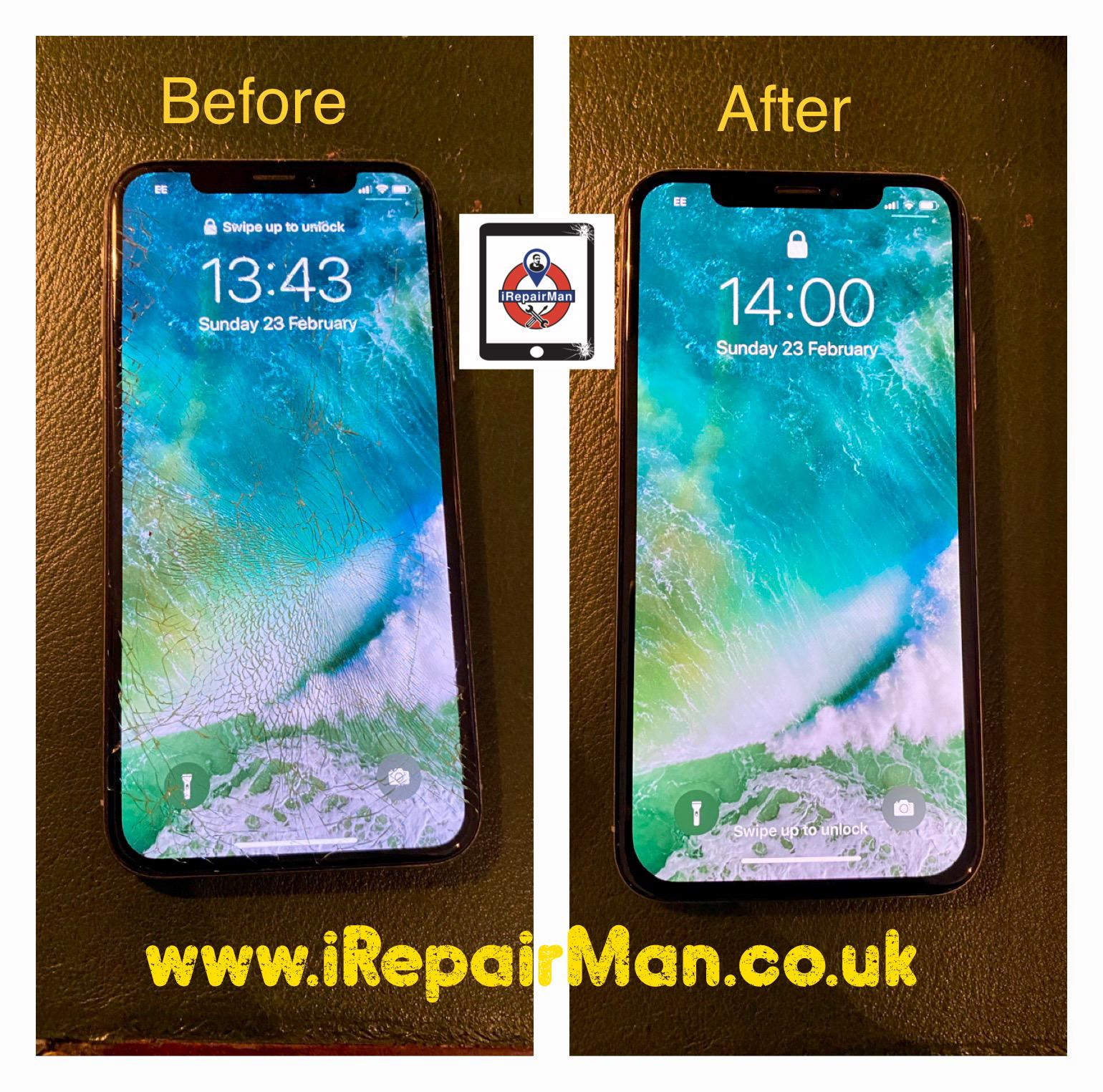 Iphone XR screen replaced