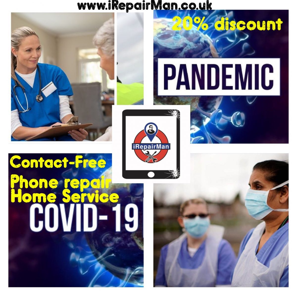 Discount for Key worker staff in COVID 19 Pandemic in London