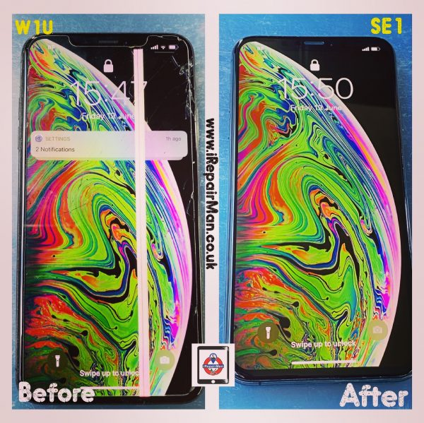 Mobile Technician fixed the iPhone XS Max in Mayfair at customer house