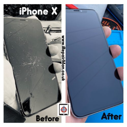 iPhone XS screen fix in covid-19
