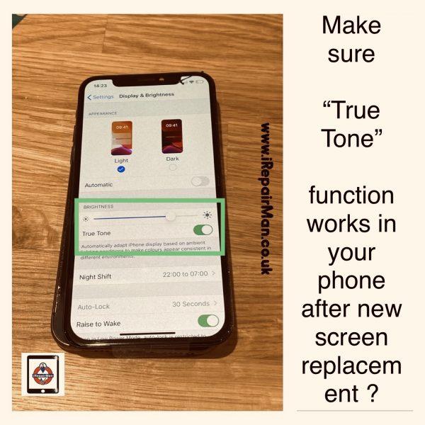 True Tone works?